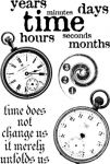 Paperartsy - Clocks 6